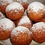 Рецепт пирожных: Творожные пончики