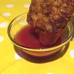Куриные палочки в пряной панировке из чипсов