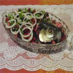 Рецепты для диабетиков: Салат «Бордо»