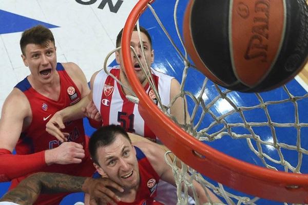 ЦСКА обыграл Црвену Звезду в третьем матче Евролиги
