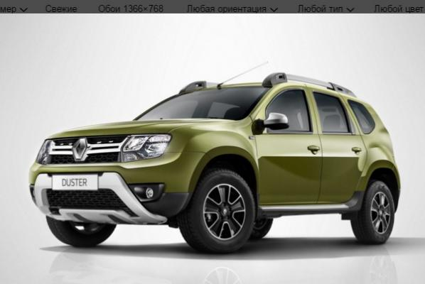 Renault Duster ������ ����� ���������� ����������� �������