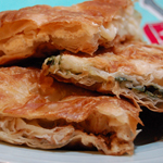 Рецепт: Пирог из слоеного теста