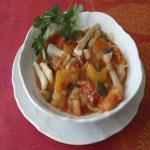 Рецепты для диабетиков: Кальмары, тушеные с овощами