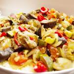 Вторые блюда из овощей: Овощи по-летнему