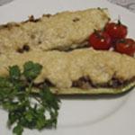 Рецепты для диабетиков: Кабачки, фаршированные гречкой и грибами