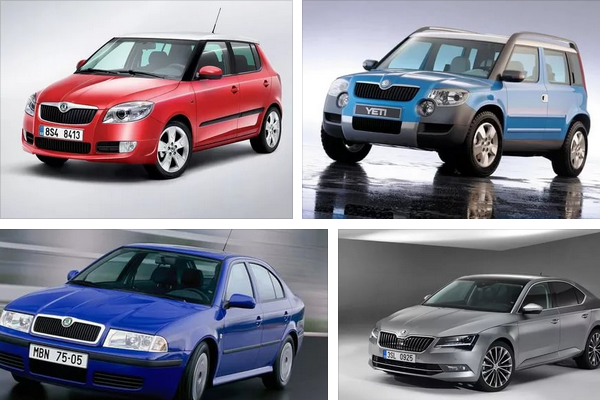 Skoda выпустит шесть новых моделей машин