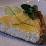 Рецепт пирогов. Легкий лимонный чизкейк