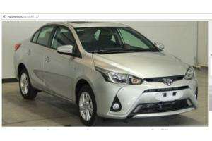 ������������ � ���� ������� Toyota Yaris L Sedan