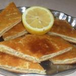 Рецепт пирога: Лимонник