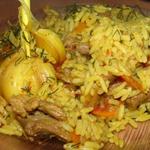 Простые вторые блюда из мяса: Плов