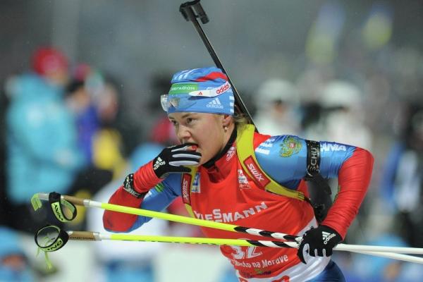 Кузьмина выиграла гонку преследования наэтапеКМ побиатлону вОберхофе