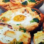 Самые простые вторые блюда: Запеченый картофель с яйцами