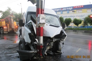 12 people are injured due to accident in Nizhniy Novgorod, Russia