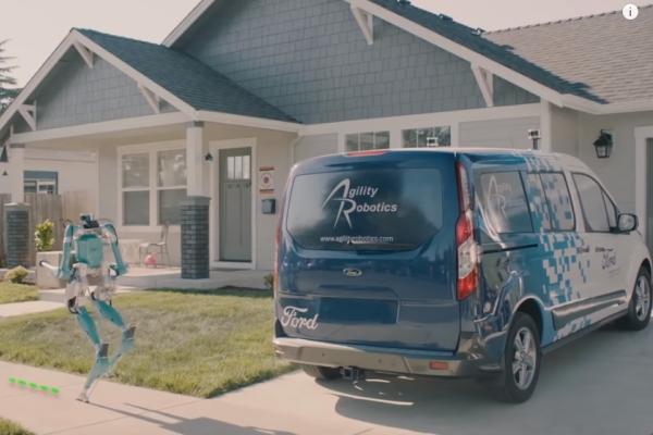 Форд протестирует ходячих роботов для доставки посылок— NewRetail