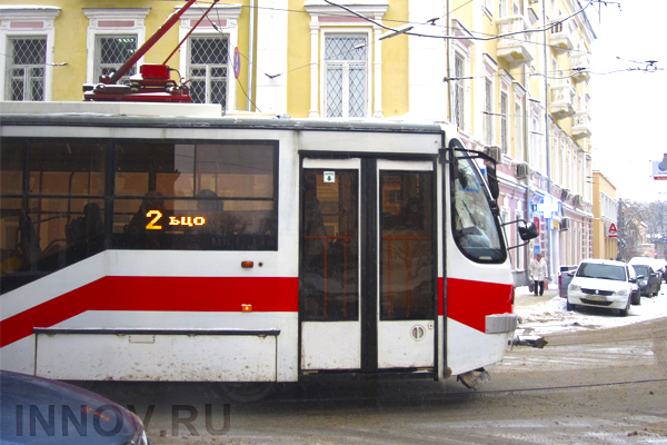 Продляются ограничения движения трамваев вцентре Нижнего Новгорода
