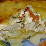 Вкусные и простые вторые блюда: Запеканка с рубленным мясом