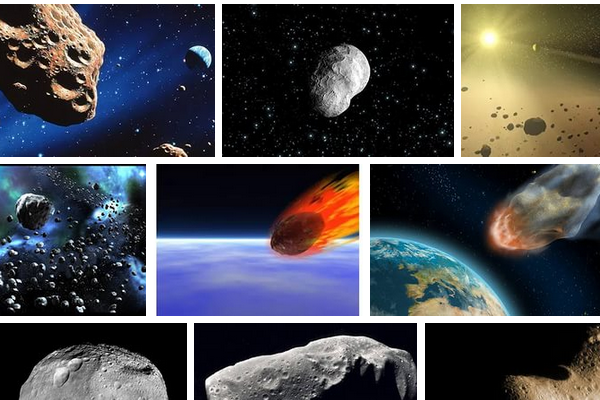 Астероиды приближаются к нашей планете.