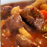 Простые вторые блюда из говядины: Тушеная говядина