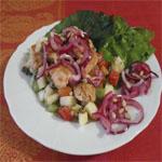 Рецепты для диабетиков: Салат с лососем