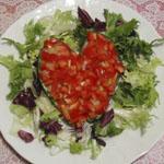 Рецепты для диабетиков: Салат «ВАЛЕНТИНКА для диабетиков»