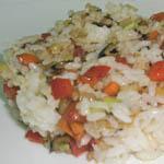 Вкусные и простые вторые блюда: Постное ризотто