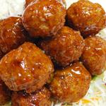 Вторые блюда из рубленого мяса: Фаршированные шарики