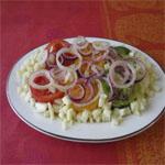 Рецепты для диабетиков: Салат «Светофор»