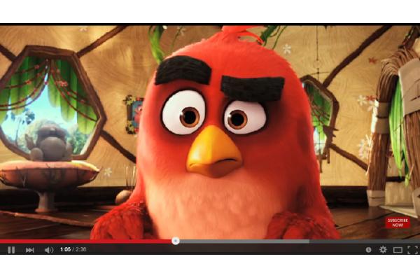 Возник первый трейлер фильма Angry Birds