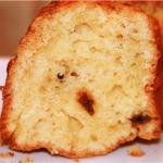 Рецепт: Нежный творожный кекс