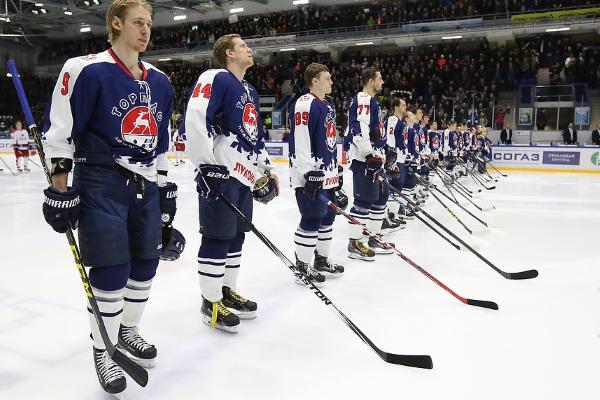 Хоккеисты Торпедо обыграли соперников из рижского Динамо в матче КХЛ