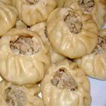 Вторые блюда из мяса: Манты узбекские