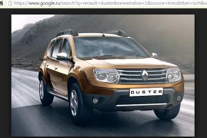 ������ ������ Renault Duster ���� �� ��� ������� � ���