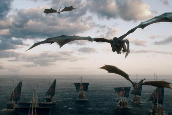 игра престолов фото драконы