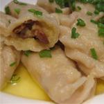Рецепты вторых блюд с грибами: Вареники с грибами