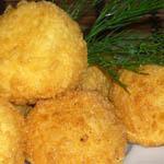 Простые вторые блюда из картофеля: Кнедлики с луковой начинкой