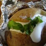 Простые вторые блюда из картофеля: Печеный картофель
