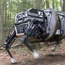 ������ Boston Dynamics ���� ������� � �������� � ����