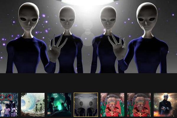 поздравление землянам от инопланетян