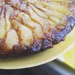 Перевернутый пирог с грушами и рикоттой