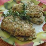 Рецепты для диабетиков: шницель рубленый из кальмара с луком