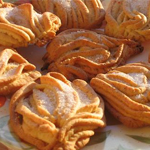 Рецепт: Печенье через мясорубку