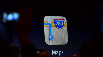 Apple ������ ������ ����������� Google Maps