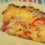 Пицца на тесте из кабачков