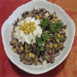 Рецепты для диабетиков: Салат из грибов с печенью